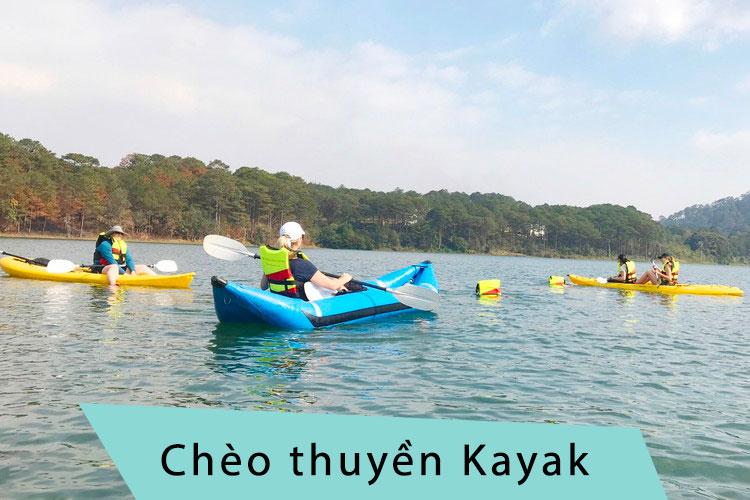 Trò chơi cắm trại chèo thuyền Kayak