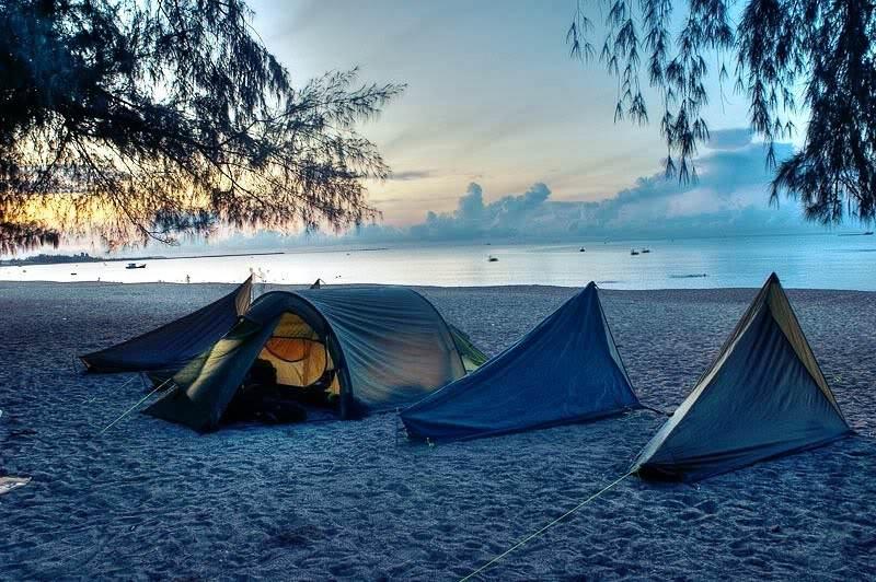 """Những điểm cắm trại """"đã hết sảy"""" ở Vũng Tàu"""