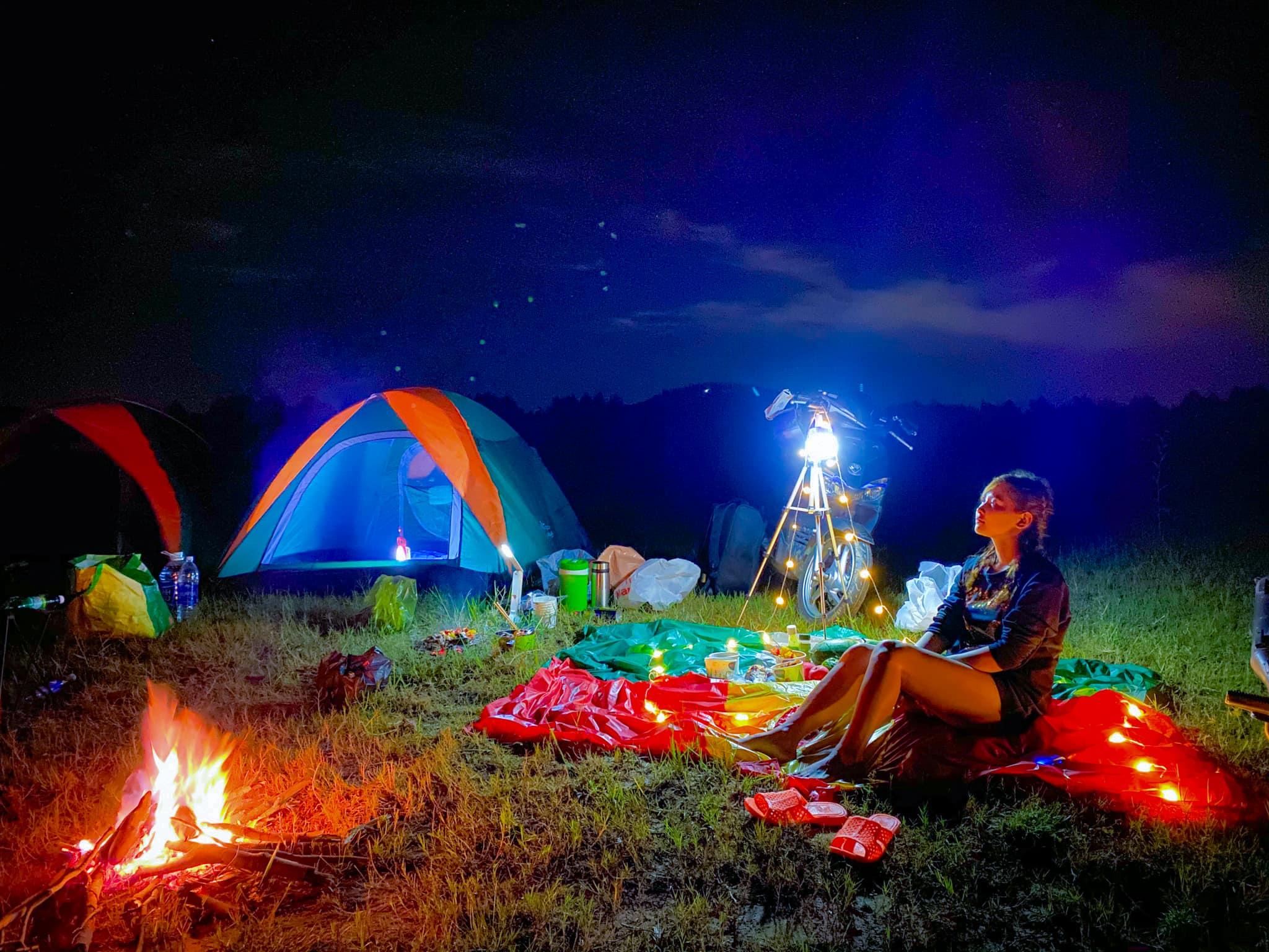 Cắm trại Hồ Dầu Tiếng qua đêm