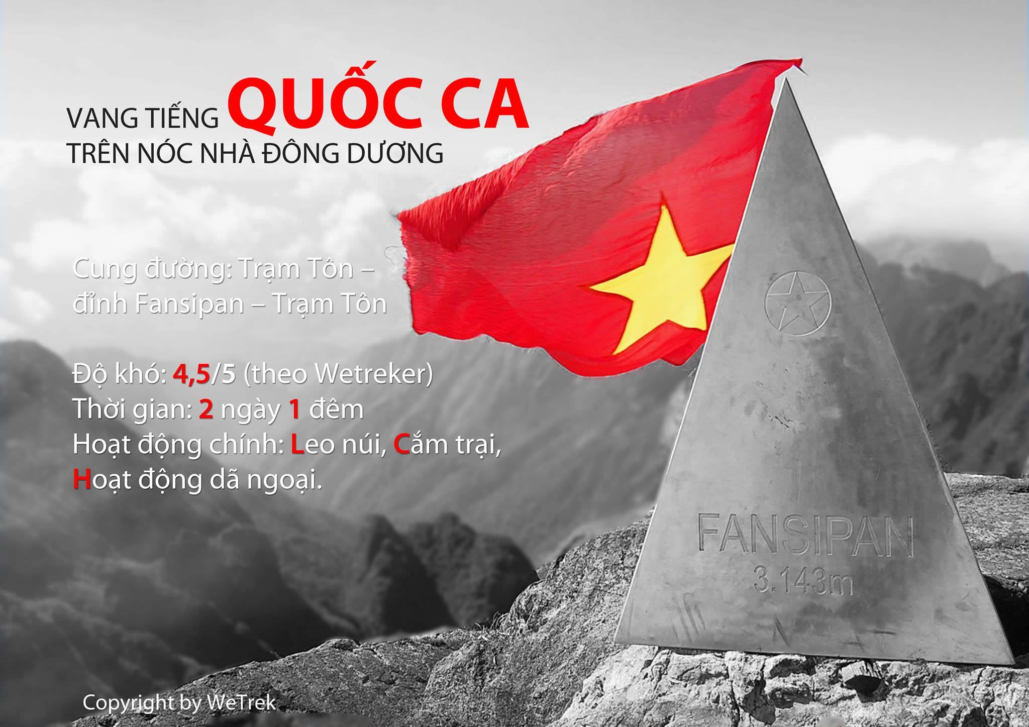 Nhật ký ngày về Fansipan - Vang tiếng Quốc Ca trên nóc nhà Đông Dương (30.8 - 2.9.2013)