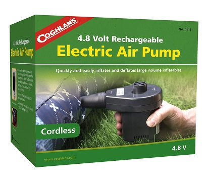 Bơm hơi sạc Coghlans Rechargeable 4.8V Air Pump