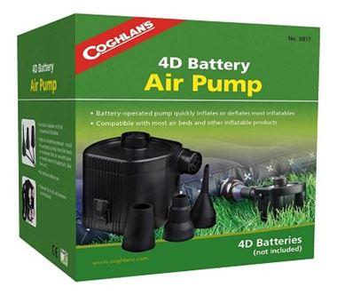 Bơm hơi Pin Coghlans 4D Air Pump