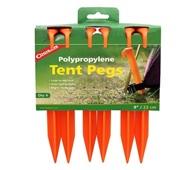 Cọc lều nhựa Coghlans 9 Polypropylene Tent Pegs