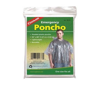 Áo mưa Coghlans Poncho Clear