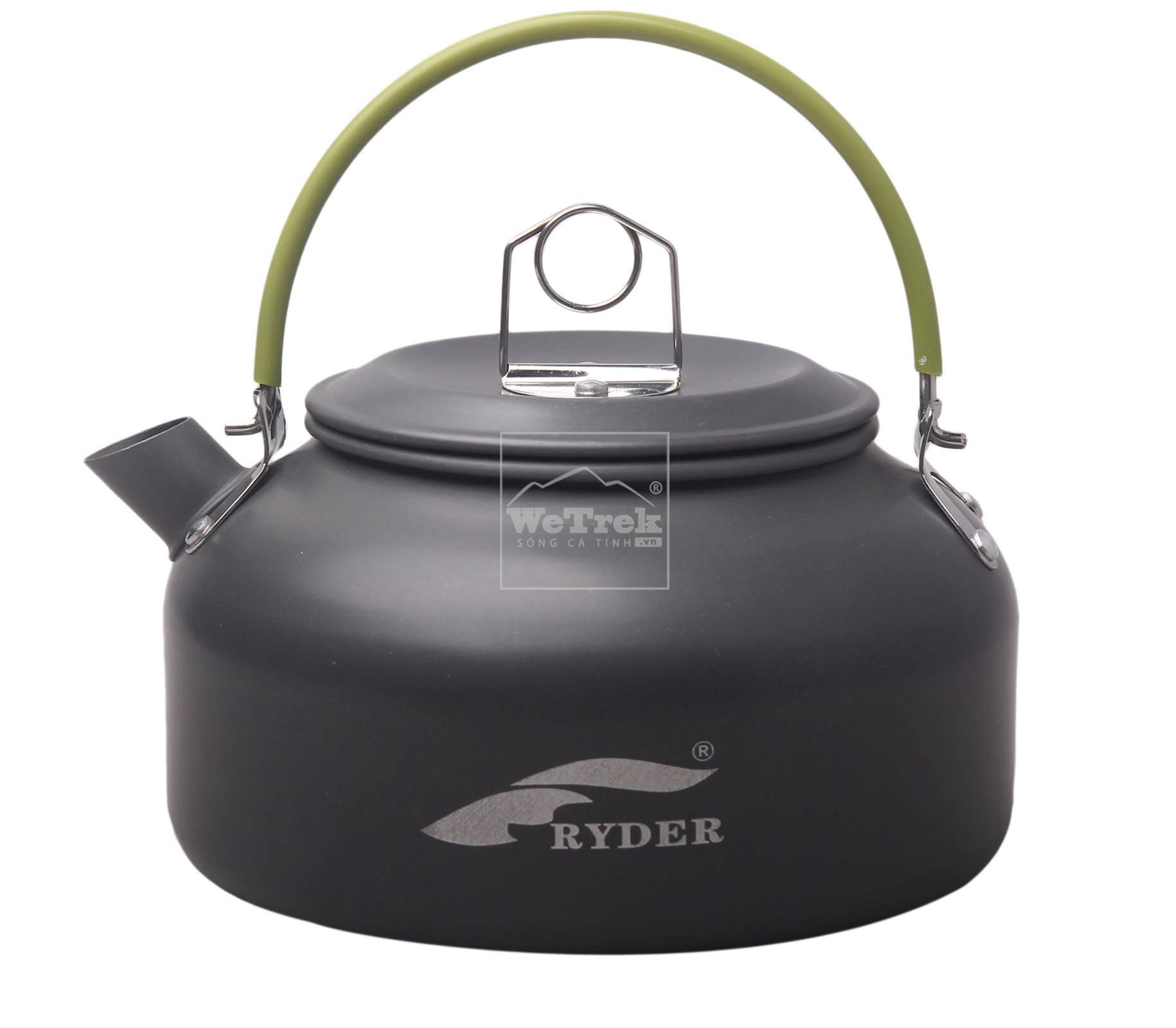 Ấm đun nước nhôm 0.8L Ryder Aluminum Kettle M1019 - 6774