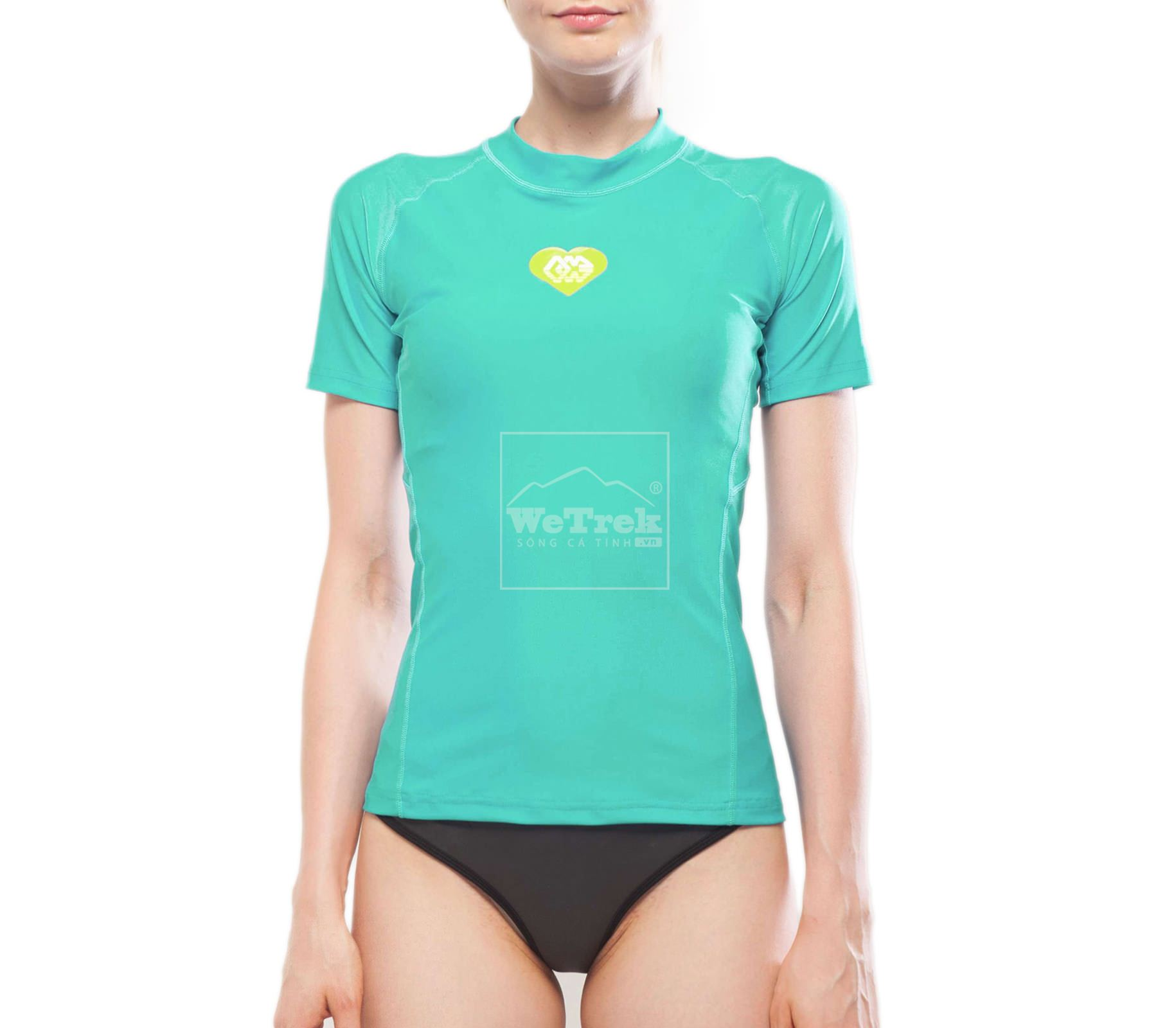Áo bơi chống nắng ngắn tay nữ Alluv Women