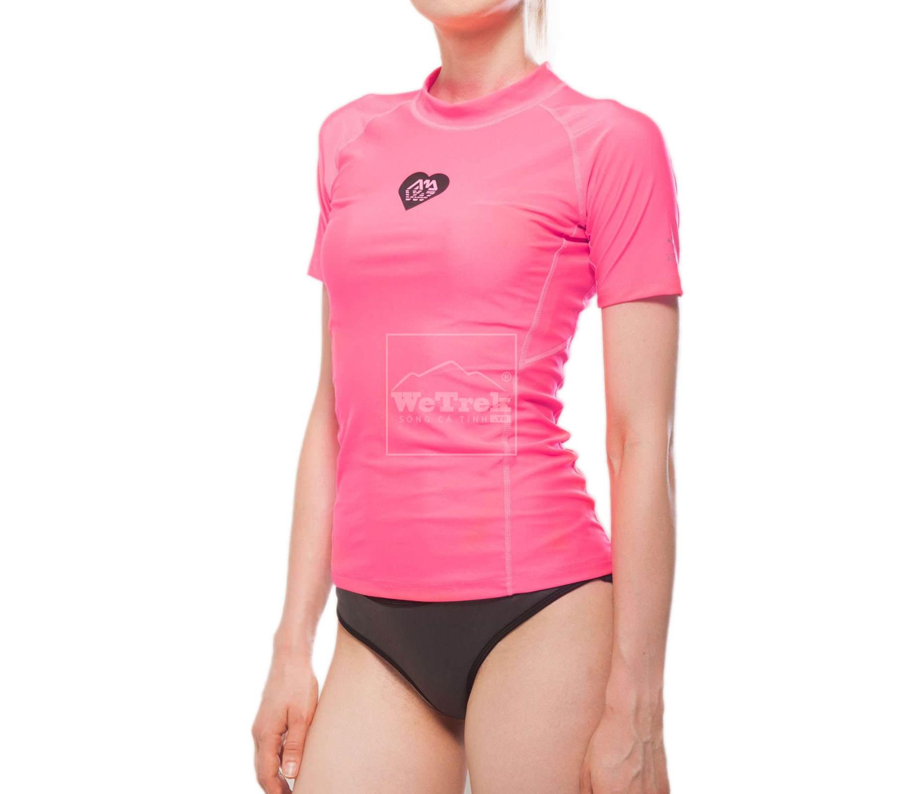 Áo bơi chống nắng nữ ngắn tay Alluv Women