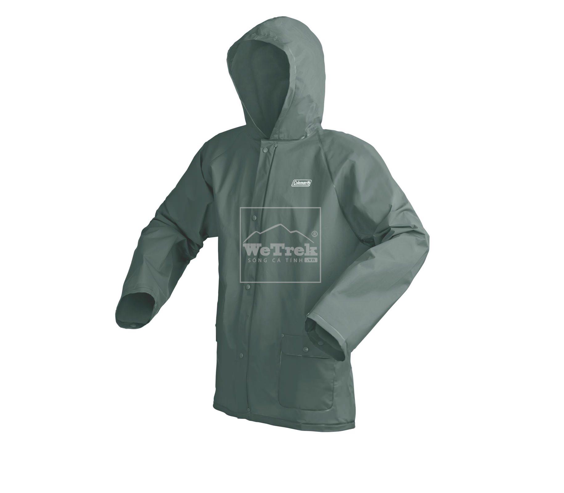 Áo đi mưa PVC Coleman Youth Eva 2000014352 - L/XL - Xanh lá 5949