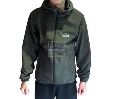 Áo khoác gió 2 lớp Gothiar 2L jacket -  Xanh Rêu 8501