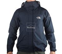 Áo khoác gió nữ 2 lớp TNF Button - 6154 Xanh đen
