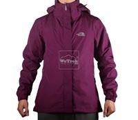 Áo khoác gió nữ 2 lớp TNF Button - 6157 Hồng tím