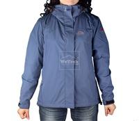 Áo khoác gió nữ 2 lớp TNF Button - 6187 Tím sim