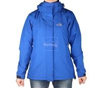 Áo khoác gió nữ 2 lớp TNF Button - 6198 Xanh dương