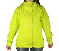 Áo khoác gió nữ 2 lớp TNF Button - 6200 Xanh nõn chuối