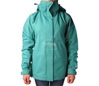 Áo khoác gió nữ 2 lớp TNF Button - 6231 Xanh ngọc lam