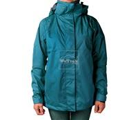 Áo khoác gió nữ 2 lớp TNF Button - 6232 Xanh lục lam