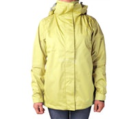 Áo khoác gió nữ 2 lớp TNF Button - 6243 Vàng nhạt