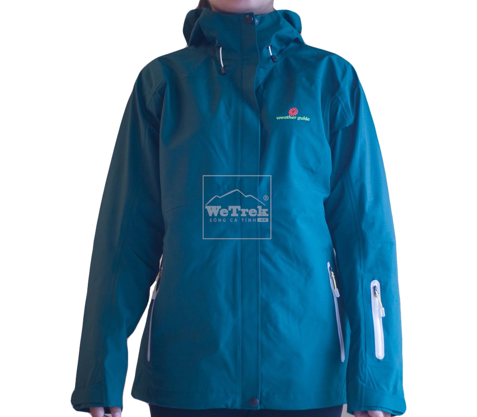 Áo khoác gió nữ 3 lớp Weather Guide Ladys 3L CS-0719V - 8286