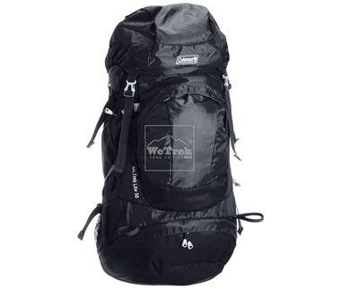 Ba lô leo núi 50L Coleman Mt. Trek Lite Backpack Black CBB3491BK - 7454