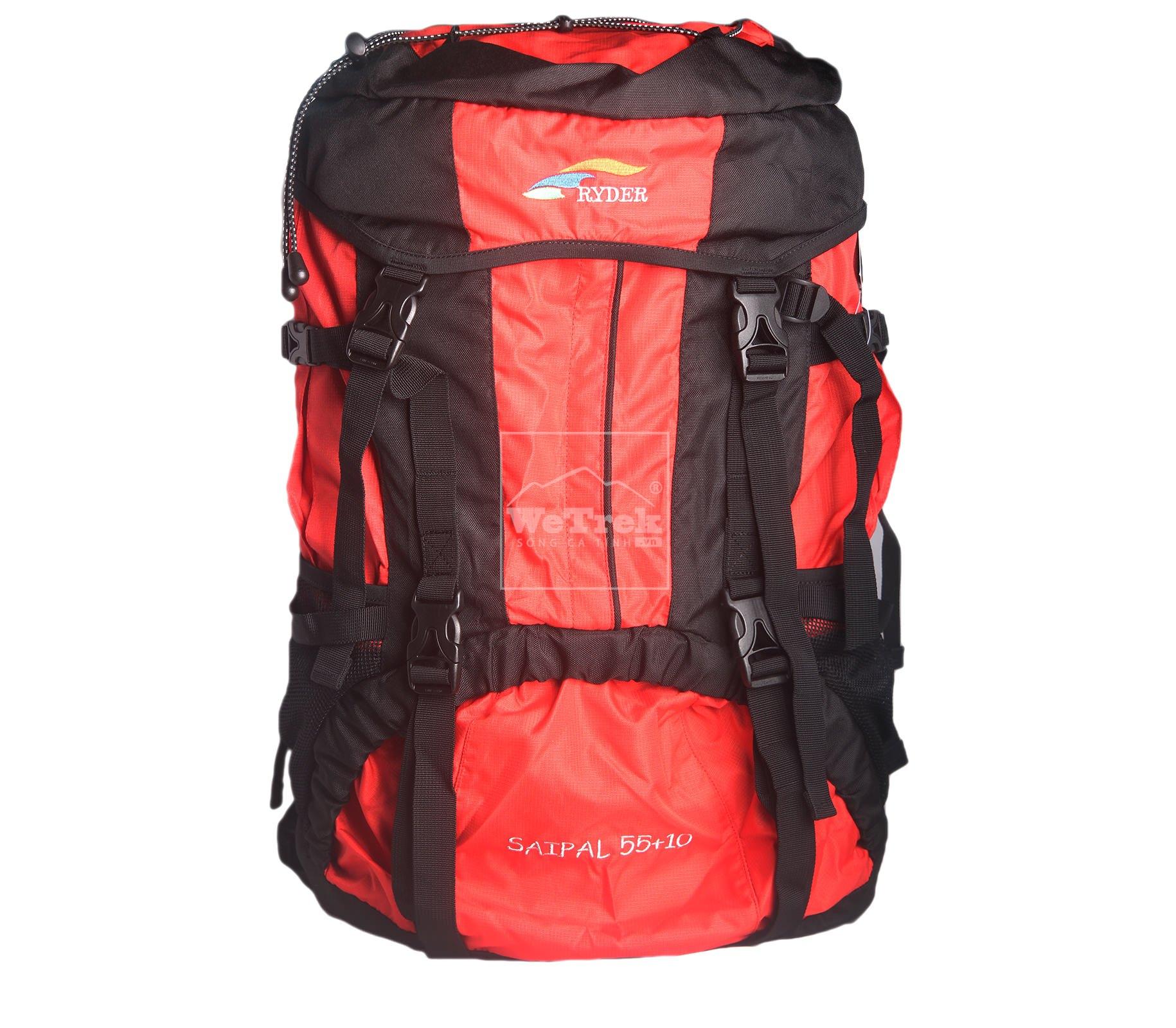 Ba lô leo núi 55+10L Ryder Backpack F0001 - 6692