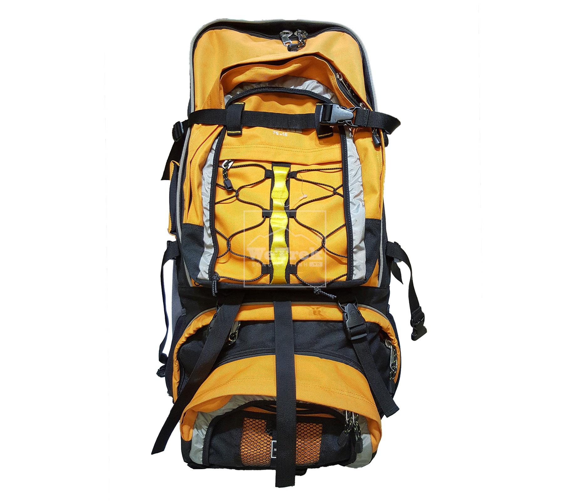 Ba lô leo núi VNXK TNF 75+15L Orange - 7555