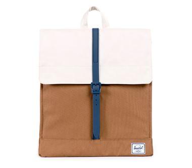 Balo du lịch HERSCHEL City Backpack Caramel/Natural/Navy Rubber