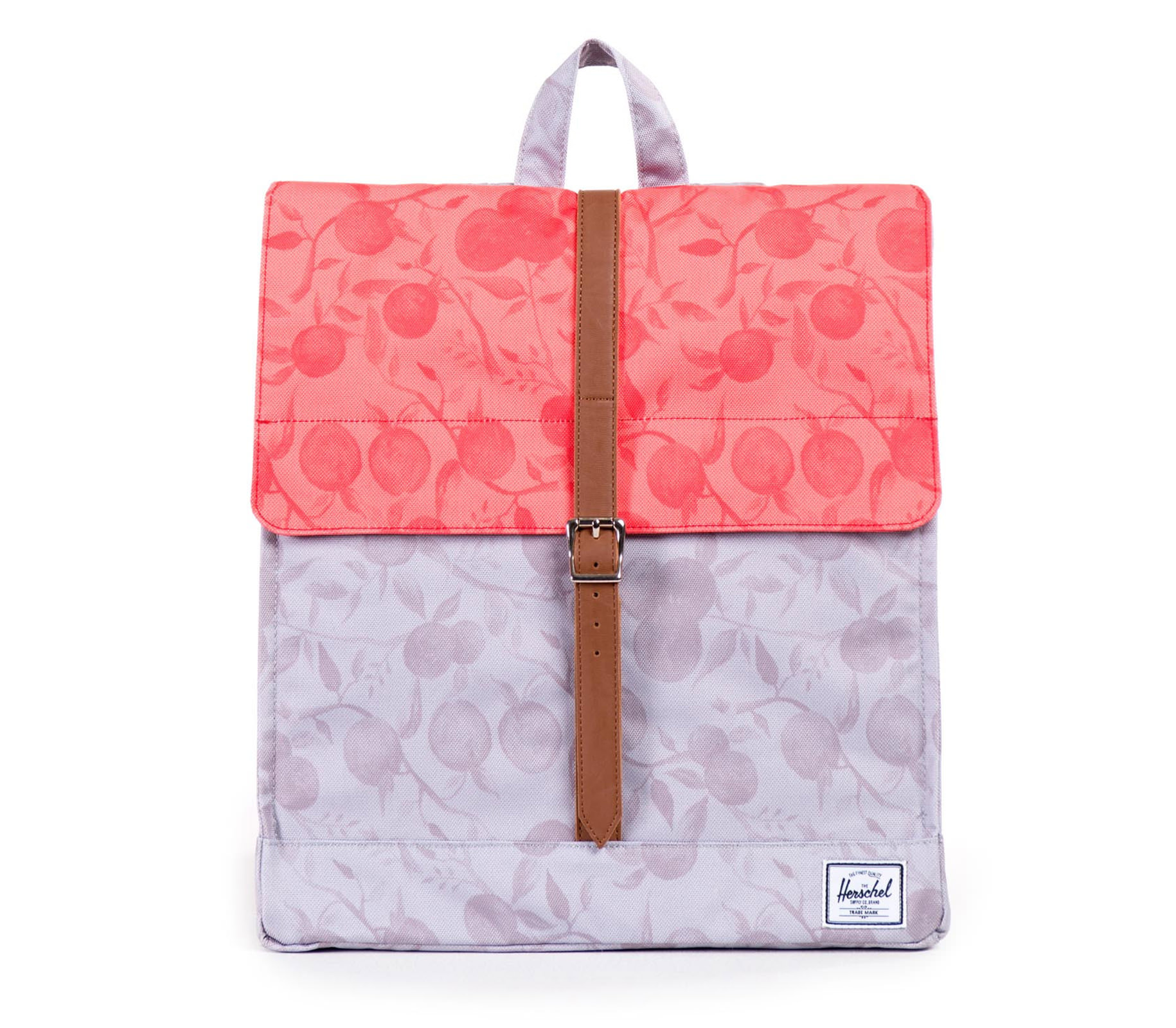 Balo du lịch HERSCHEL City Backpack Grey Orchard/Red Orchard