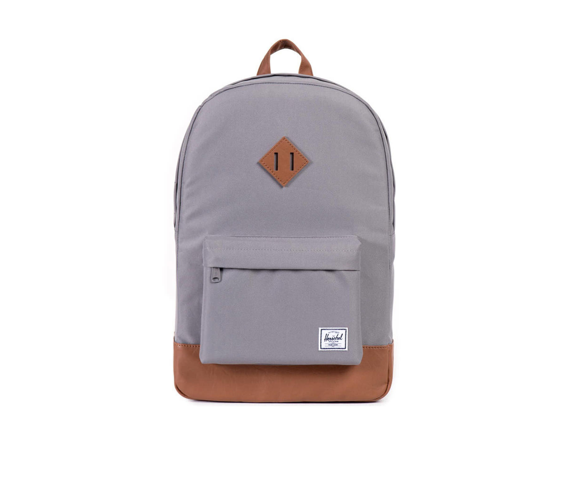 Balo du lịch HERSCHEL Heritage Backpack Grey/Tan Synthetic Leather