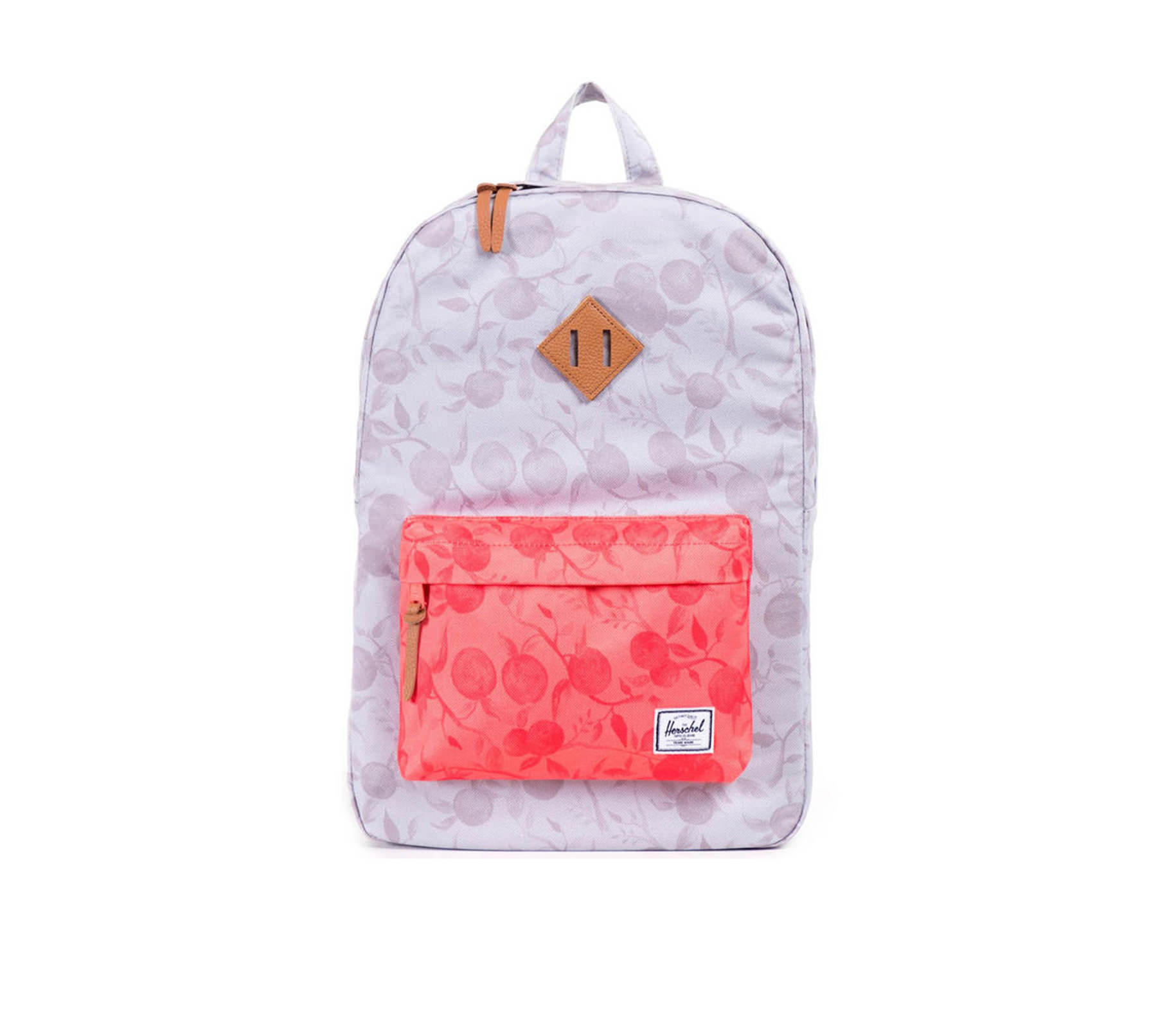 Balo du lịch HERSCHEL Heritage Grey Orchard/Red Orchard