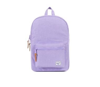 Balo du lịch HERSCHEL Settlement Mid Volume Electric Lilac Crosshatch Rubber