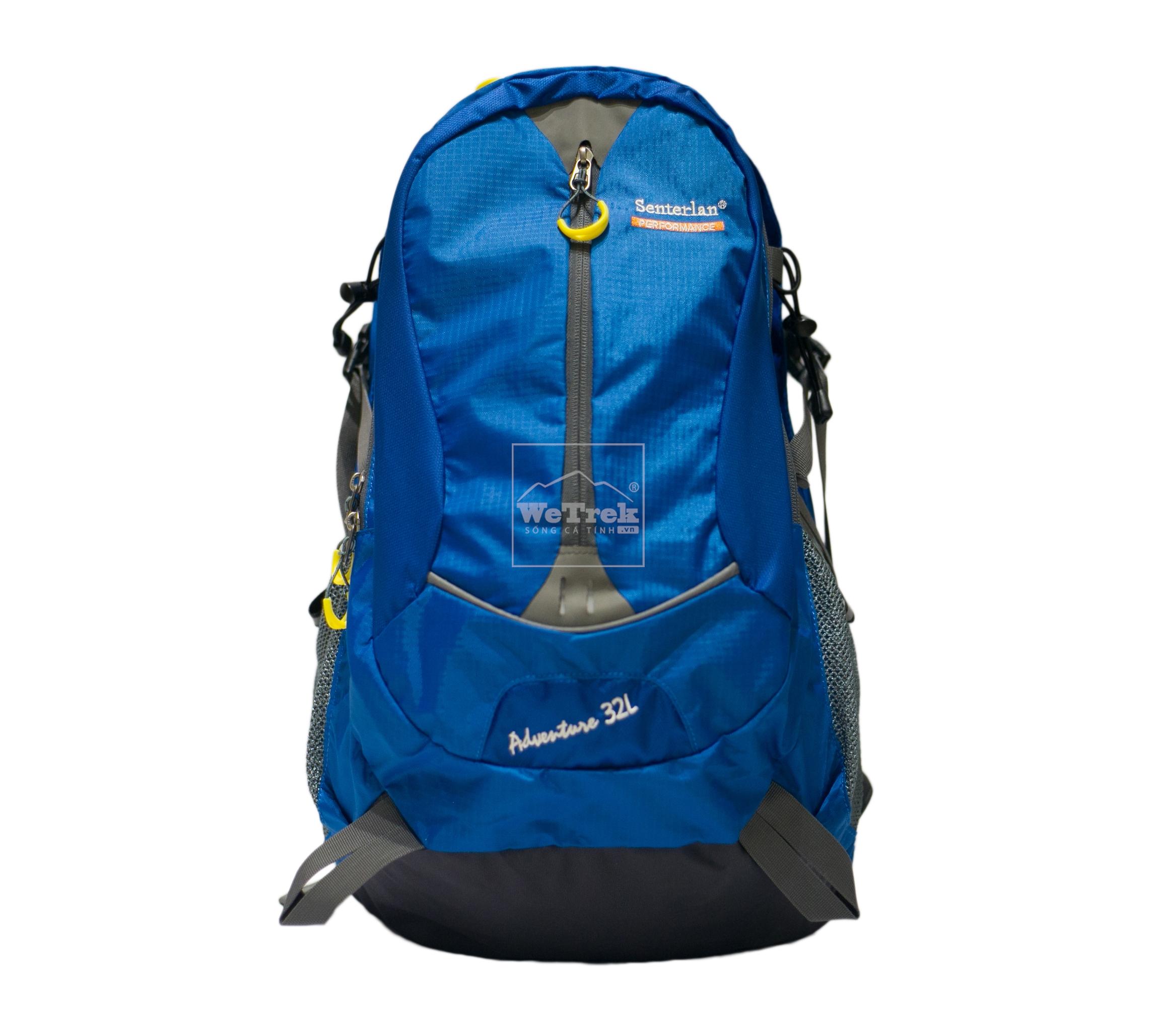 Balo leo núi 32L Senterlan Adventure S2128 - 8492 Xanh dương