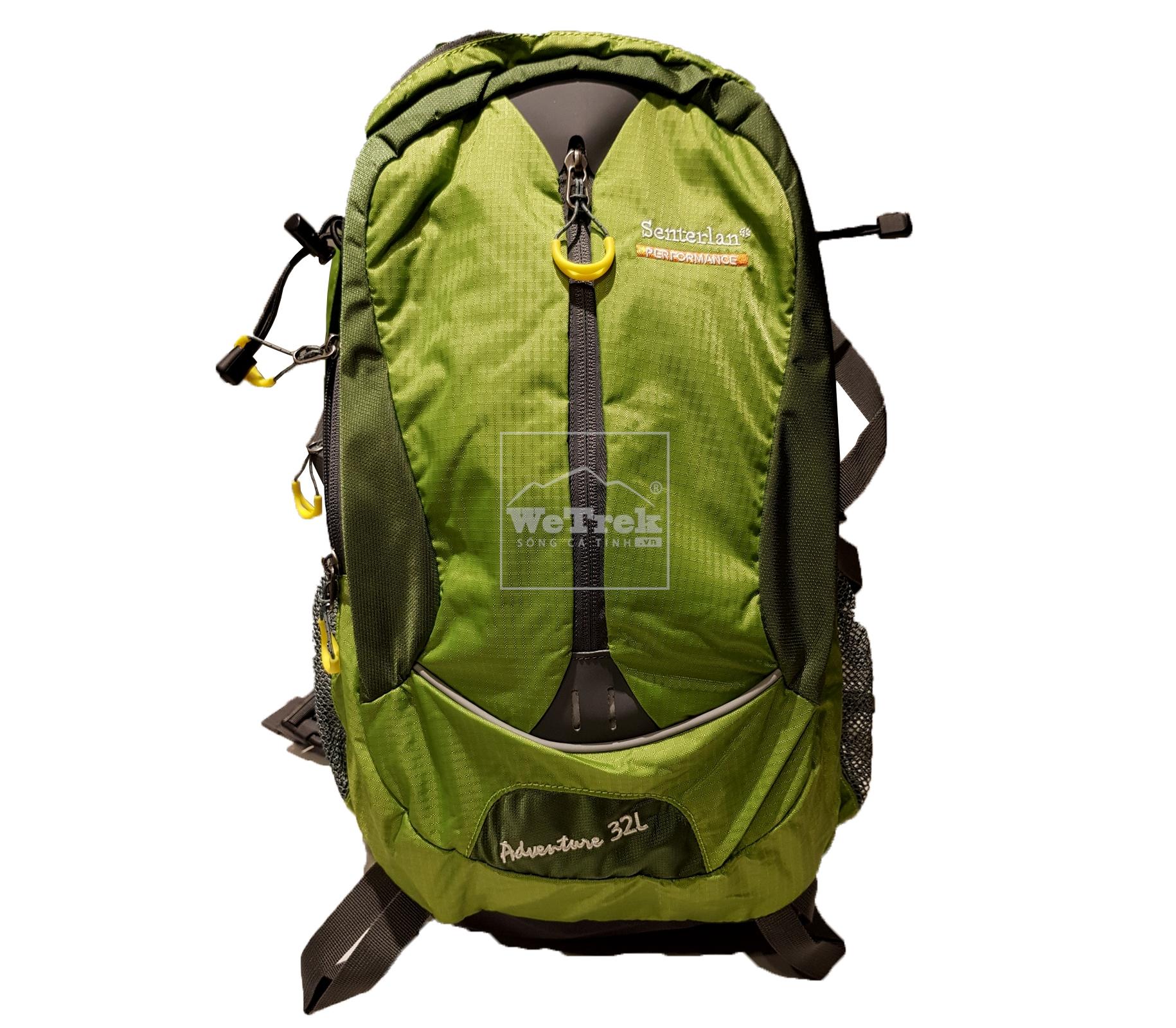 Balo leo núi 32L Senterlan Adventure S2128 Xanh lá - 9226