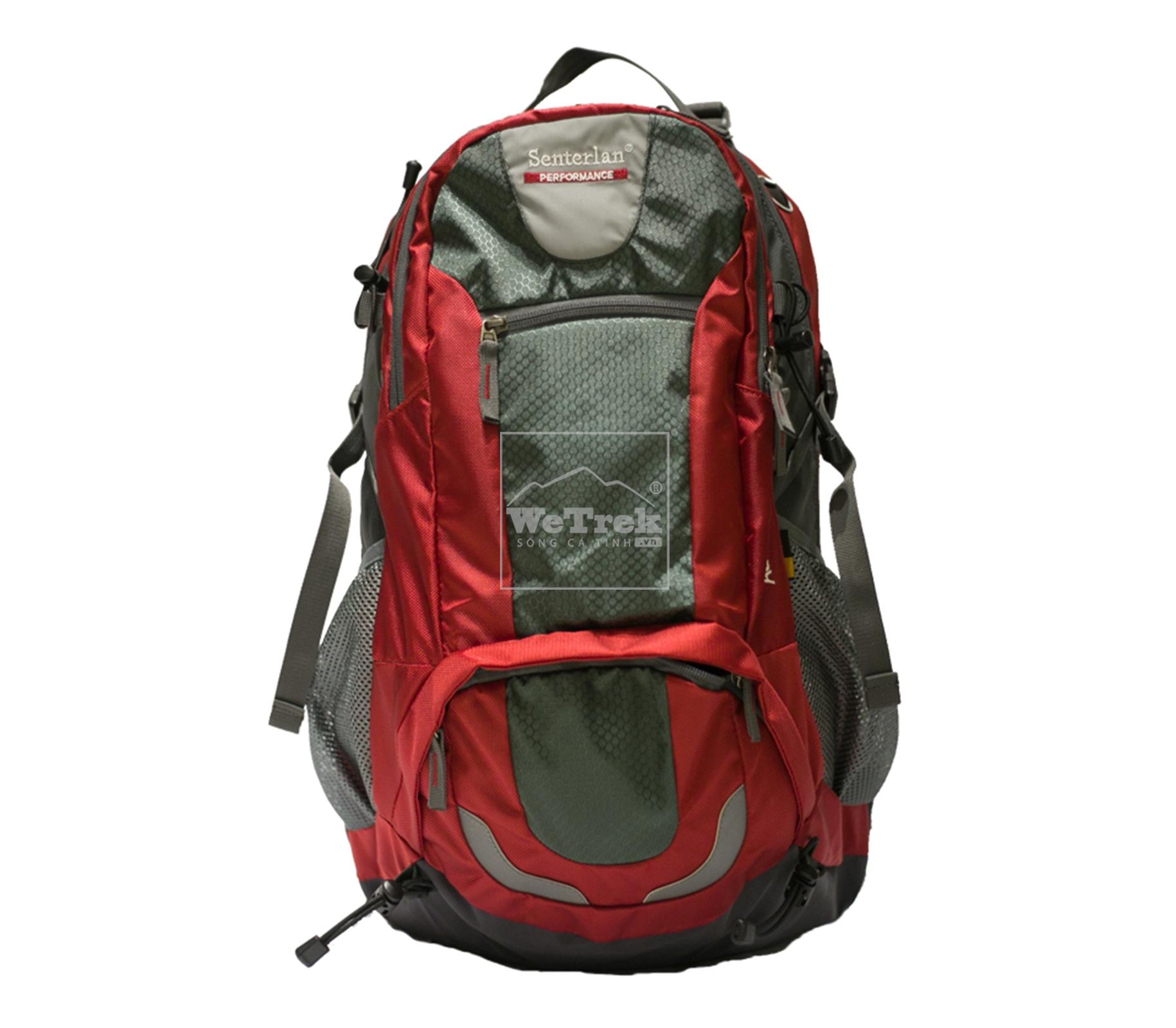 Balo leo núi 38L Senterlan Performance S1553 - 8447 Đỏ