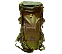Balo leo núi 50+5L Freeouter FB319 Xanh Lá - 9216