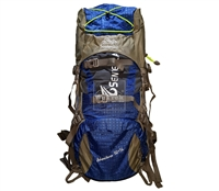Balo leo núi 50+5L Senterlan Adventure S1008-1  Xanh dương - 9217