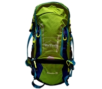 Balo leo núi 50L Senterlan Adventure S2459-1 Xanh lá - 9222