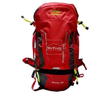 Balo leo núi 50L Senterlan Adventure S2459-1 đỏ - 9219