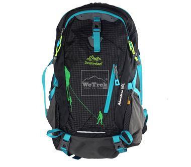 Balo leo núi Senterlan Adventure 40L S2467 Black Blue - 5698