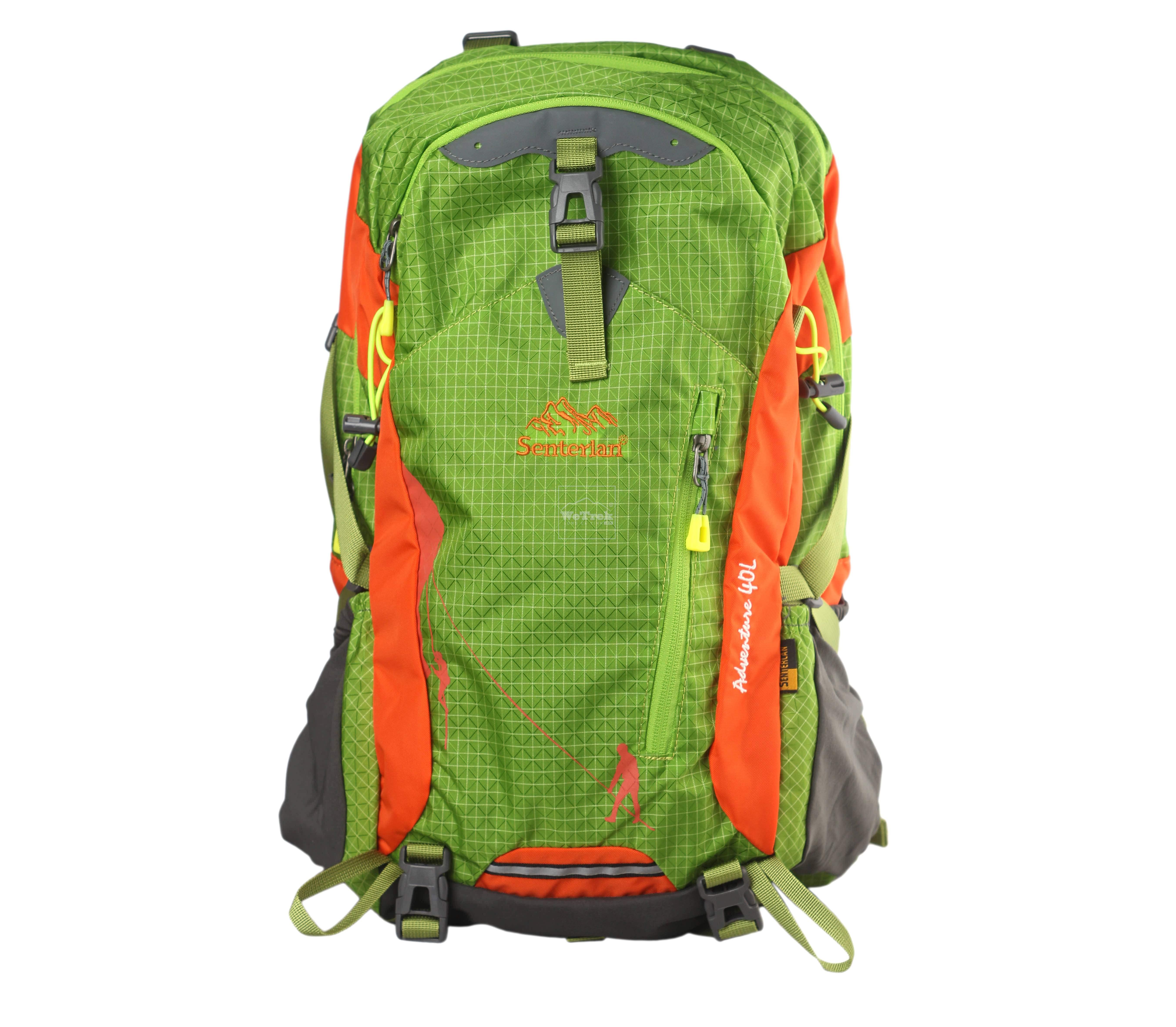 Balo leo núi Senterlan Adventure 40L S2467 Green - 5672