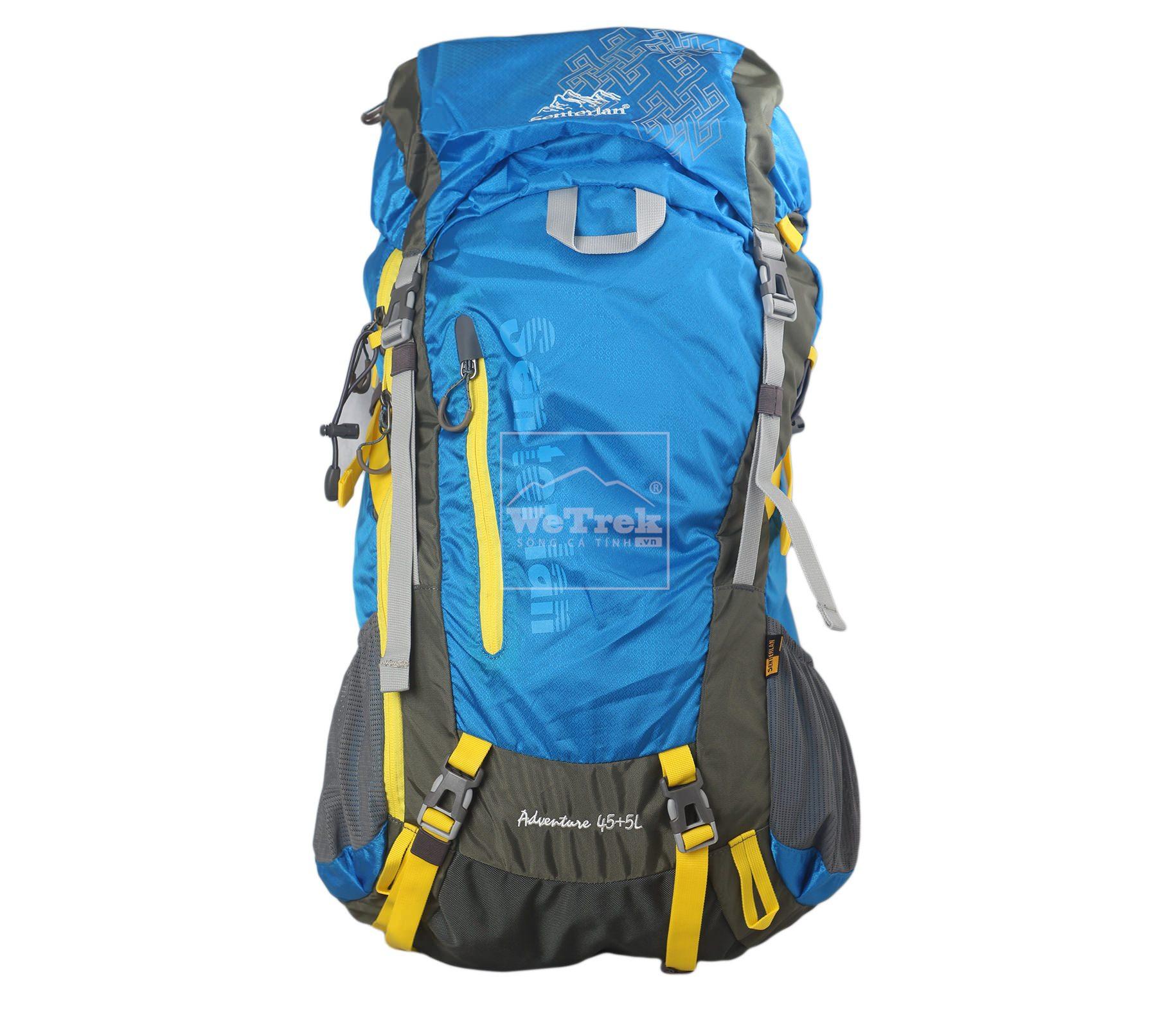 Balo leo núi Senterlan Adventure 45+5L S2375 Blue - 5692