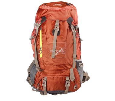 Balo leo núi Senterlan Adventure  65+5L S1039 Brown - 5708