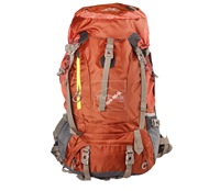 Balo leo núi Senterlan Adventure  65+5L S1039 Brown - 5708