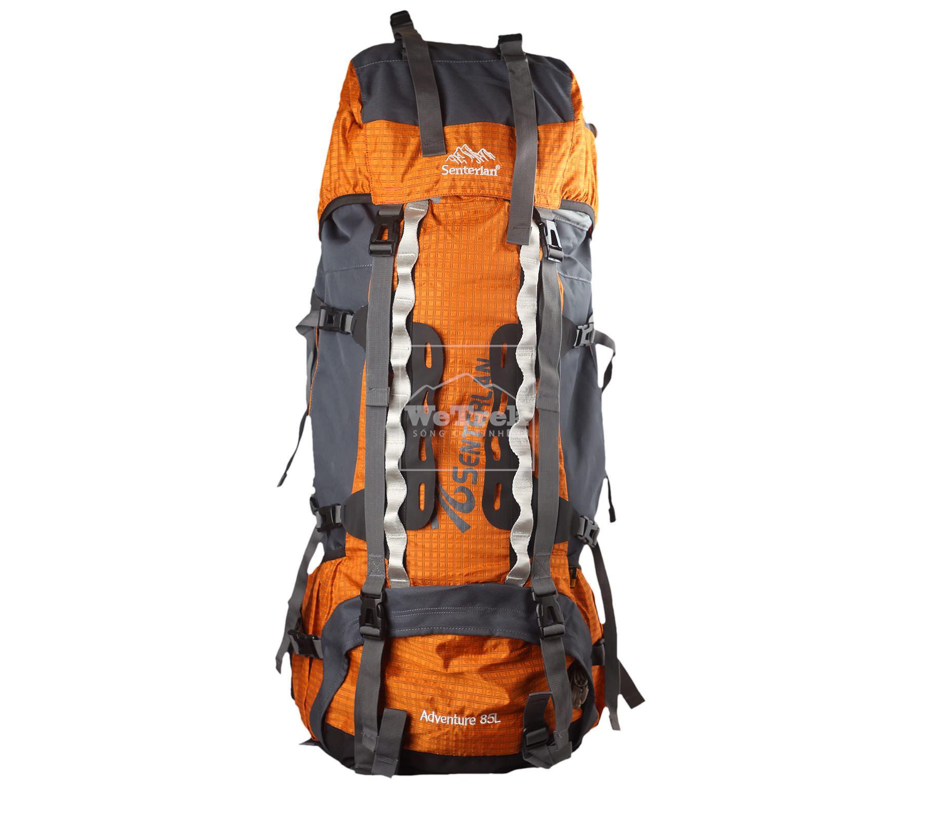 Balo leo núi Senterlan Capacity 85L S1032 Orange - 5715
