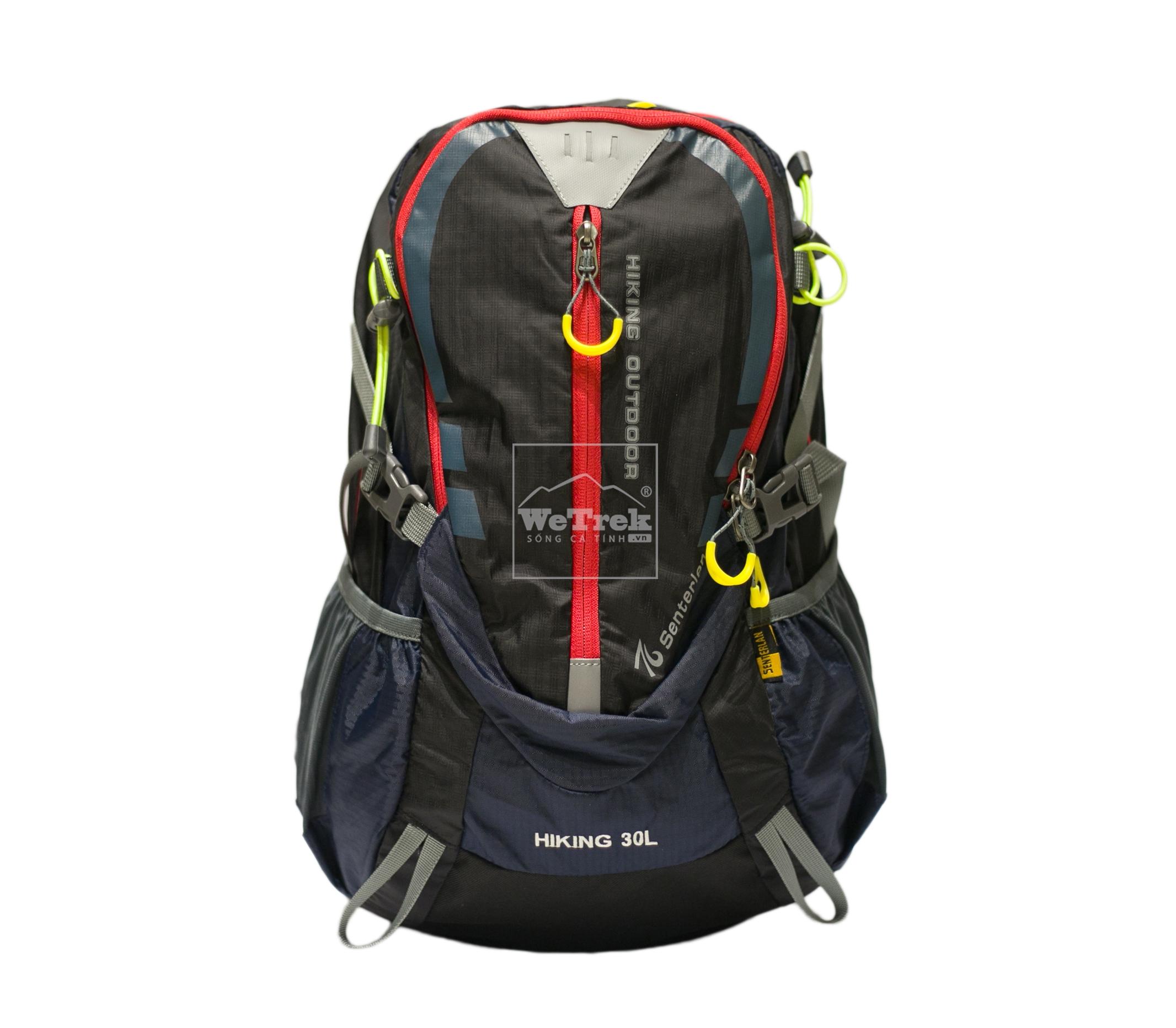 Balo leo núi Senterlan Hiking Outdoor S2310 - 8452 Đen