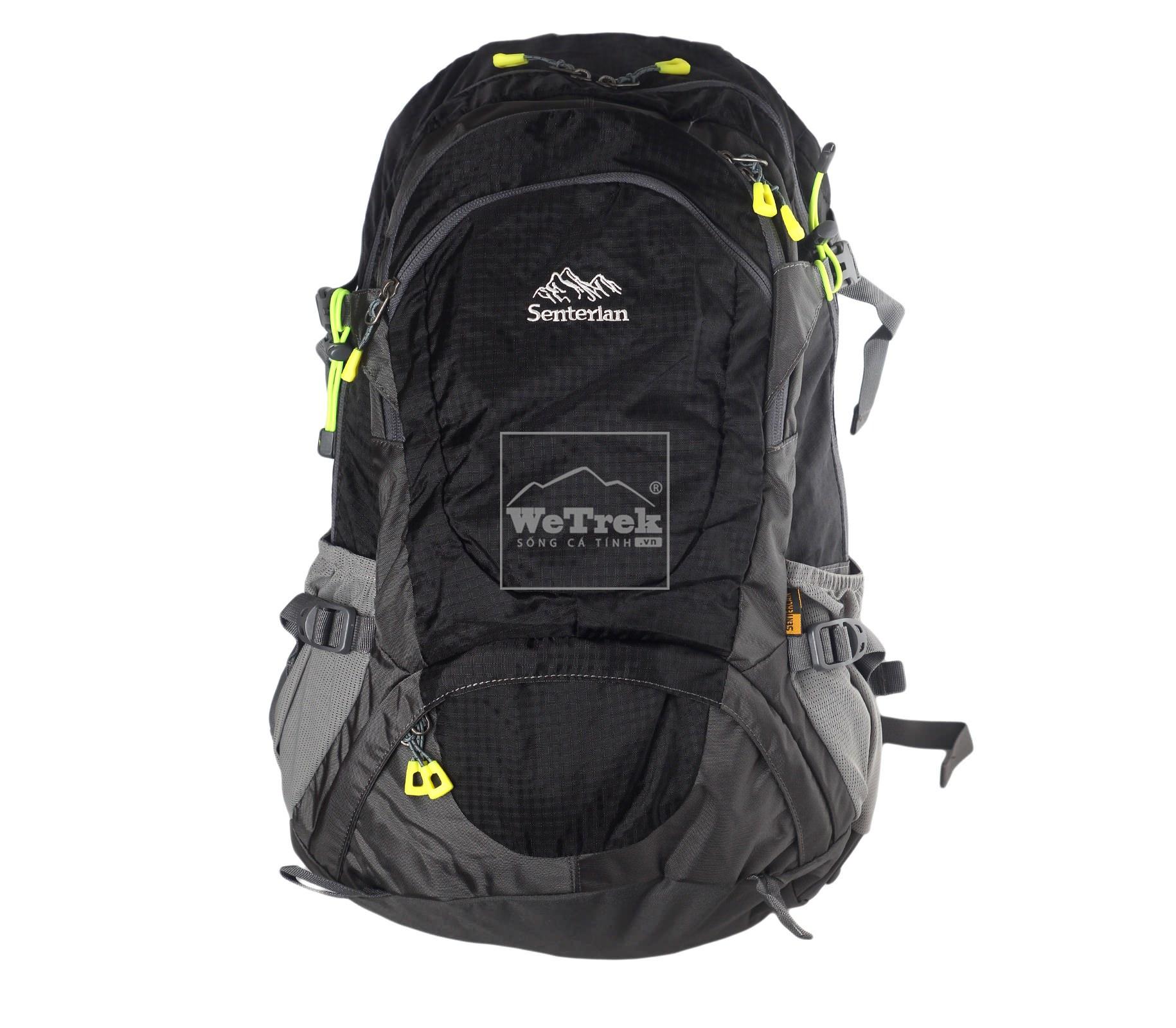 Balo leo núi 35L Senterlan S2526 - Black 5685