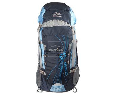 Balo leo núi Senterlan Traveler 50L S2815 Black Blue - 5702