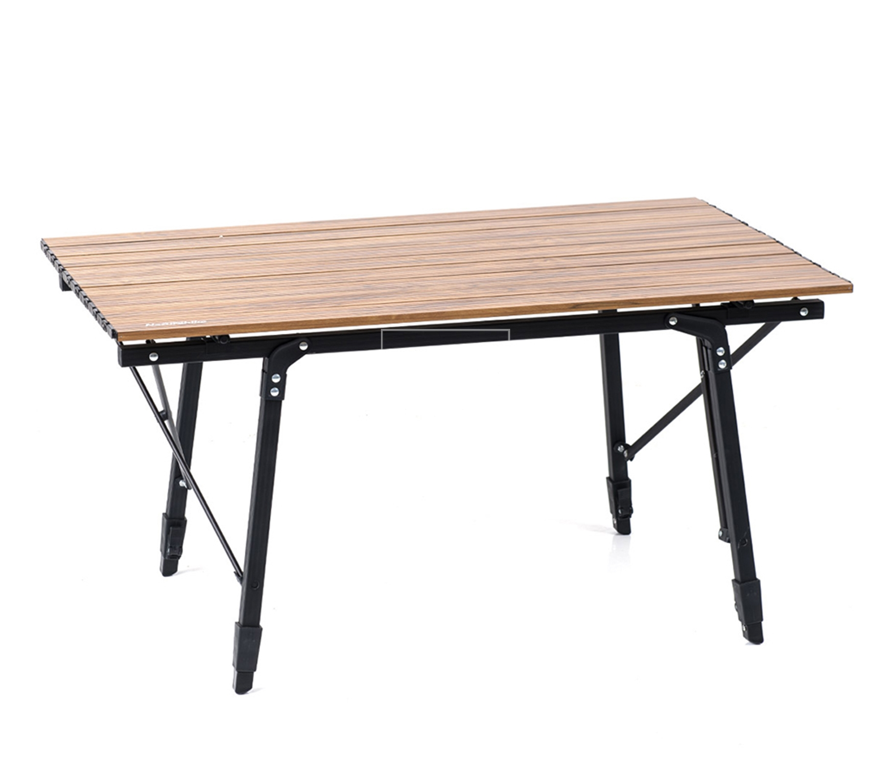 Bàn gấp dã ngoại mặt gỗ điều chỉnh chiều cao Naturehike Portable Wooden Folding Table NH19Z003-D - 9537