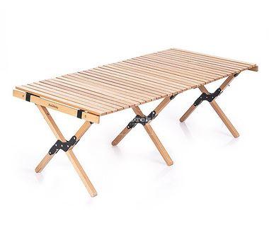 Bàn gỗ dã ngoại cuộn gọn Naturehike Wooden Folding Table NH19JJ009 - 9540