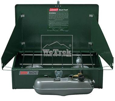 Bếp nhiên liệu đôi Coleman Dual Fuel 2-Burner Stove 3000000788
