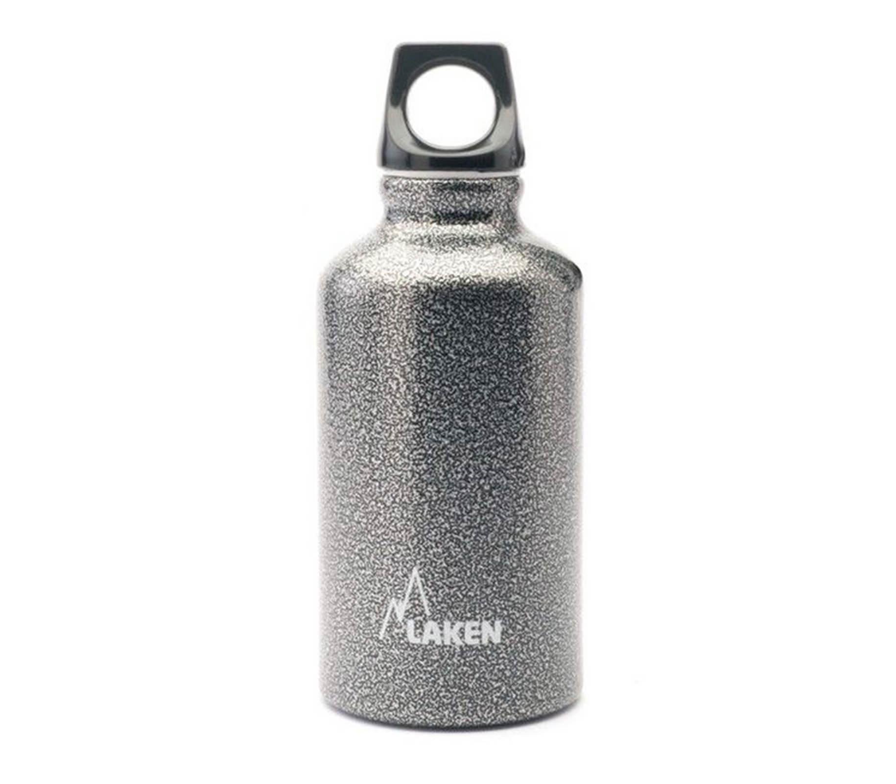 Bình nước LAKEN Aluminium Futura 350ml - Xám granite